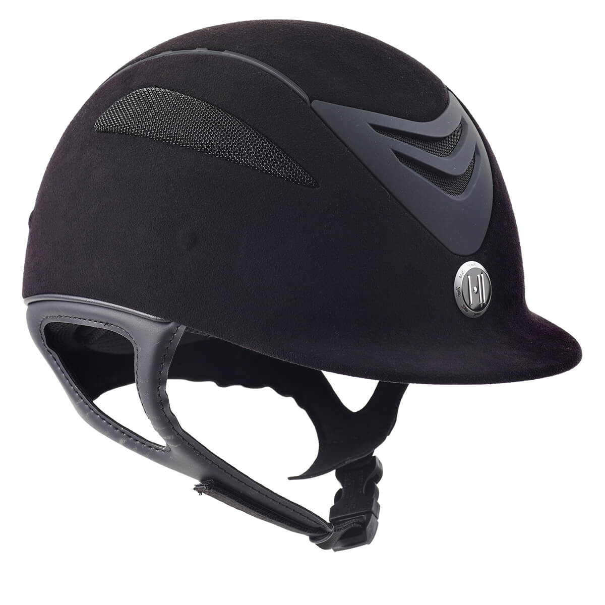 470433 Helmet Defender Sued Junior Black Matte