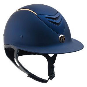 Defender AVANCE Wide Brim Rose Gold Stripe Helmet