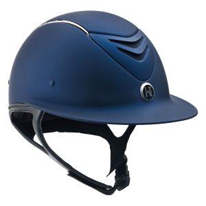 Defender AVANCE Wide Brim Chrome Stripe Helmet