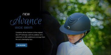 New Avance Wide Brim Helmet