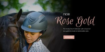 Rose Gold Helmet